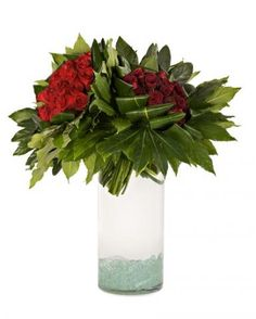 Fresh250.00Twice as Red - Arrangements - Los Angeles Florist tic-tock Couture Florals | Voted Best Florist in Los Angeles