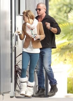 Dominic Purcell Photos Photos - Exclusive: Actress AnnaLynne McCord and her beau Dominic Purcell headed to a friends house in Los Angeles, California on March 20, 2012 for a visit. - AnnaLynne McCord with Dominic Purcell
