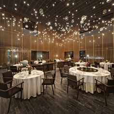 "The Fest #Restaurant (#China). #Interior #Lighting #Design by #Neri&Hu. Winner in ""Lighting"" category at the #RABDAwards 2013"