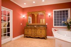 View a selection of modular home bathroom photos included in some of our popular modular home floor plans. Modular Home Floor Plans, House Floor Plans, Franklin Homes, Bathroom Photos, Modular Homes, Bubble Bath, Bathtub, Flooring, How To Plan
