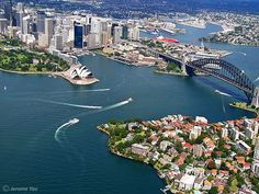All sizes | Above Sydney, via Flickr. Sydney, River, Photo And Video, World, Outdoor, The World, Outdoors, Outdoor Games, The Great Outdoors