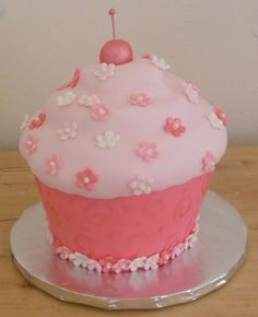 Pretty Pink Cupcakes | Cakes that Look Like Other Things: Pretty Pink Cupcake!