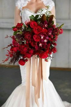 Beautiful wedding bouquet!