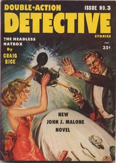 BISH'S BEAT: VINTAGE COVERS: DOUBLE-ACTION DETECTIVE!