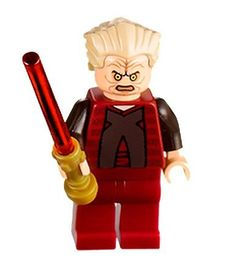 Lego Star Wars Chancellor Palpatine / Darth Sidious Minifigure