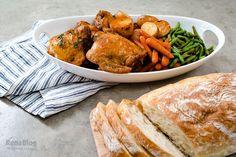 Pollo agridulce con vegetales fácil de preparar