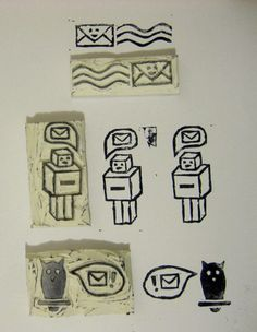 How to Make Your Own Rubber Stamps: Homemade Ideas for Custom, Hand Carved Stamps By Rose Clearfield