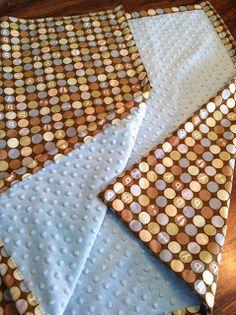 Living in His Grace: Easy DIY baby blanket