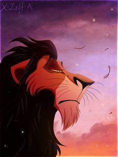 Not the chosen one by X-Zelfa Simba Disney, Disney Lion King, Disney And Dreamworks, Scar Lion King, Lion King Fan Art, Best Villains, Disney Villains, Lion King Quotes, Hollow Art