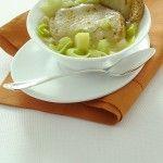 Zuppa di pane, patate e porri