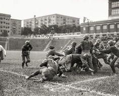 """Geo. Wash. U. vs. Juniata Col. at Central High."" 1925, Washington, D.C.  http://www.shorpy.com/node/20636 National Photo Co."