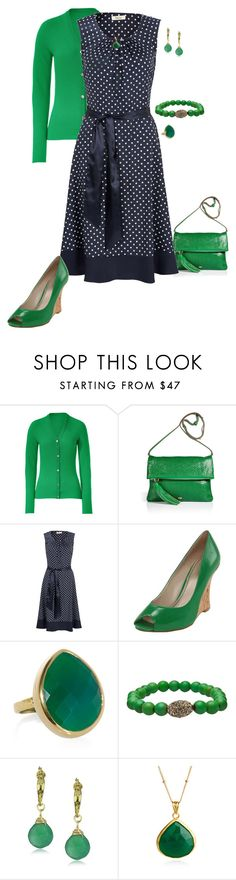 """""""Anya"""" by kvnielsen ❤ liked on Polyvore featuring Lucien Pellat-Finet, Anya Hindmarch, Precis Petite, Nine West, Monica Vinader, Lionette and Coralia Leets"""