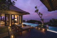 The Luxury Conrad resort on a pristine beach, Bali