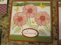 Stampin' Up! goodies from Glitter Gals/Dazzling Diamonds meetings