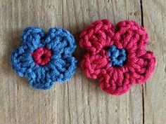 Crochet Flower - Tutorial!