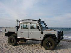Leserauto Land Rover Defender 130 Crew Cab: Last-Kraft-Wagen (Bildergalerie, Bild 1) - 4WHEELFUN