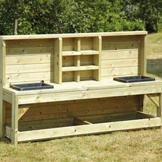 Outdoor Wooden Messy Play Station