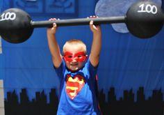 "Funny photo op-Photo 26 of 53: Superhero / Birthday ""Gavin's Super 6th Birthday!"" | Catch My Party"