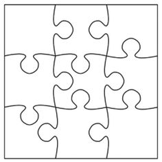 P is for Puzzle -- have kids draw their own picture to turn it into a puzzle.