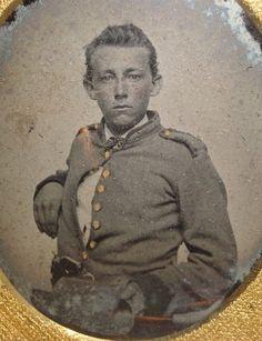 Pvt. Alfred J. Lilliston (1844-1933), Co. F, 46th Virginia Infantry.