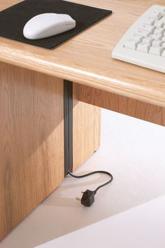 Corniche Desks Cable Management | Verco Furniture and Seating