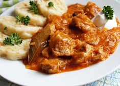 Czech Recipes, Ethnic Recipes, Curry, Pork, Beef, Chicken, Red Peppers, Kale Stir Fry, Meat