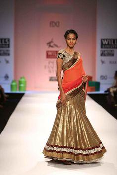 """Wills Lifestyle India Fashion Week AW Day 3 by Ekru by Ekta & Ruchira Indian Wedding Outfits, Bridal Outfits, Indian Outfits, Indian Clothes, Indian Weddings, Wedding Attire, Bridal Dresses, Indian Attire, Indian Ethnic Wear"