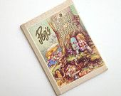 Vintage Peg's Fairy Book, Written by Peg Maltby, 1961, Color Illustrations, Hardcover Children's Book, Wonderful Stories and Pictures!