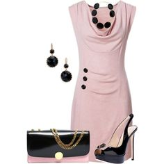 Pink and black!
