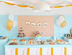 Fiesta temática Party Buffet, Fiesta Party, Celebration, Themed Parties, Fashion For Girls, Parties Kids, Celebrations, Party Catering, Party