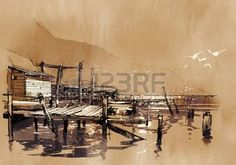 Boat Dock Stock Photos & Pictures. Royalty Free Boat Dock Images ...