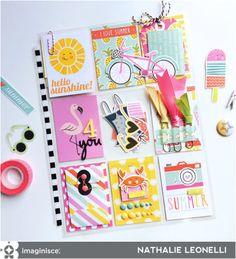Imaginisce Blog: Hello Sunshine (pocket-letter style!)