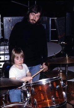 The Bonhams: John and Jason. #drummers #ledzeppelin http://www.pinterest.com/TheHitman14/musician-drummers-%2B/