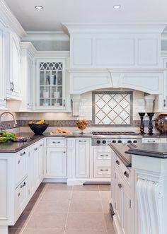 Elegant #white on white #kitchen