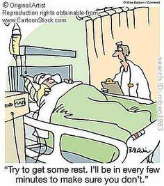 No Rest for Patient