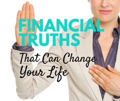8 Financial Truths That Can Change Your Life