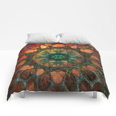 Buy Sun Mandala Comforters by klaraacel. Worldwide shipping available at Society6.com. Just one of millions of high quality products available.