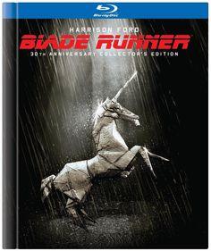 Carátula del Blu-Ray de la edición 30 Aniversario de #BladeRunner, Funny for the boy who asks about unicorns...