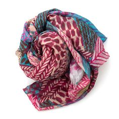 The Loma Scarf - Pink