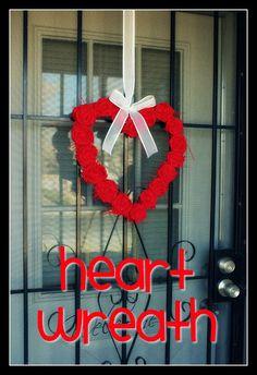 I Heart My Glue Gun: Corona di Giorno di San Valentino