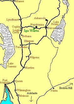Iga Warta Map Australia, Map, Location Map, Cards, Maps, Peta, Australia Beach