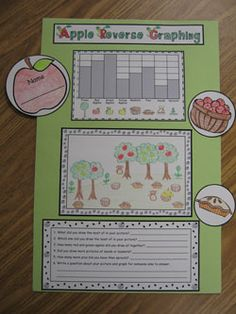 Apple Reverse Graphing Activity! $