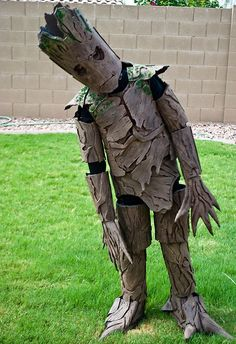 """I am Groot"" :) Amazing kids Halloween costumes.check out Groot From 'Guardians Of The Galaxy'!"