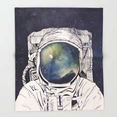 Buy Dreaming Of Space Throw Blanket by Tracie Andrews. Worldwide shipping available at Society6.com. Just one of millions of high quality products available.