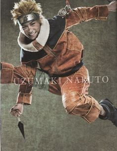 Uzumaki Naruto from the live action play <3