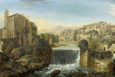 Paolo Anesi (1697-1773), The Aniene Waterfalls (at Tivoli)