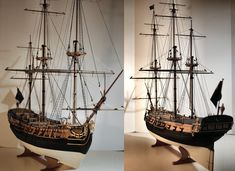 Fine Ship models built with passion for discerning individuals who do not just buy a model but have one built for them! Model Sailing Ships, Model Ships, Model Ship Building, Doll House Crafts, Wooden Ship, Amazing Pics, Tall Ships, Art Model, Nautical
