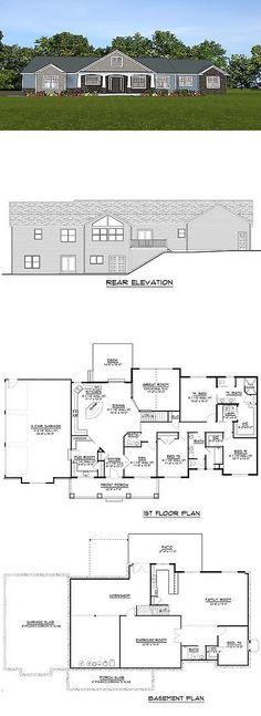 Building Plans and Blueprints 42130 Garage Plans Blueprints 3 Car - new blueprint for 3 car garage