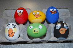 Angry Birds Easter Eggs by youngergirl44 on Flickr