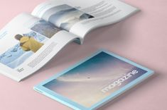 This is a A4 landscape psd magazine mockup template to let you display your print designs in style. We included the...